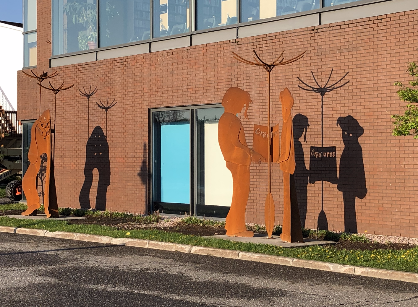 Créa/tures, un projet rassembleur qui culmine avec l'installation d'une œuvre d'art public au Complexe culturel Joseph-Rouleau