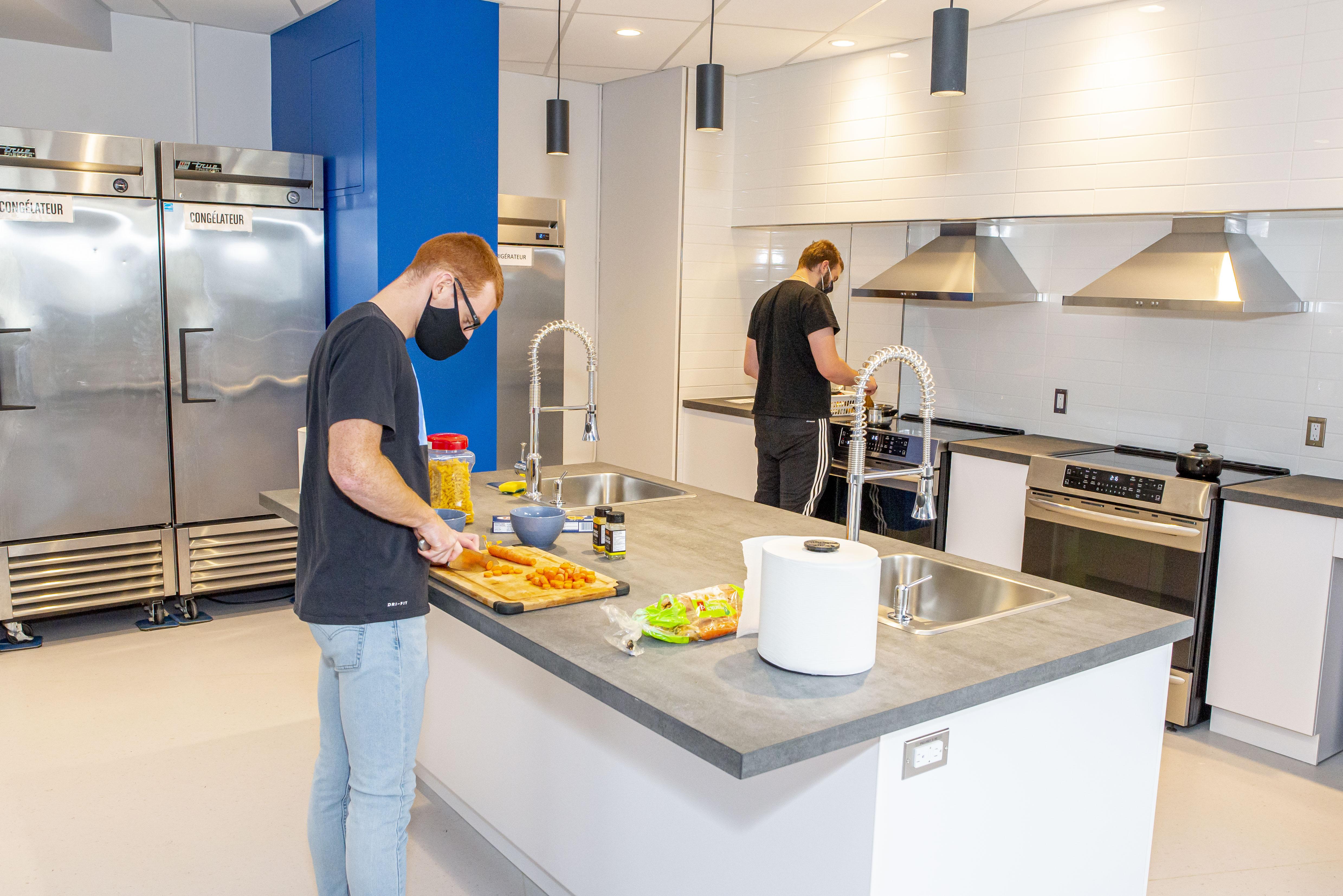 Source : L'automne dernier, les personnes logées à la résidence étudiante avaient déjà pu bénéficier d'une première phase de travaux.