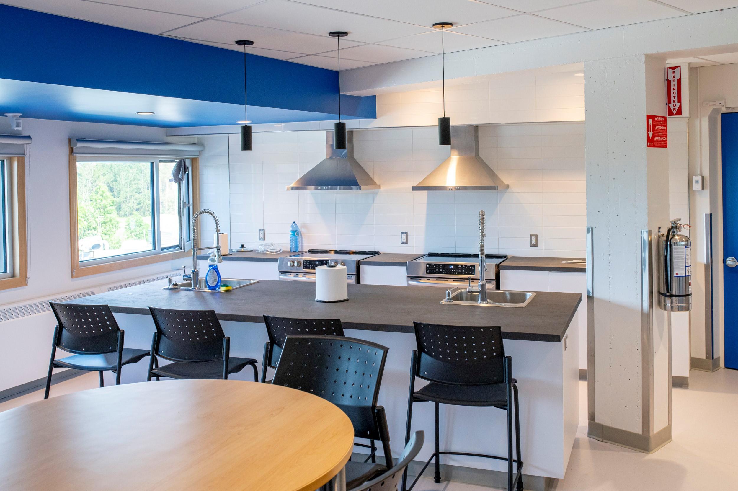 Source : Déjà deux cuisinettes de la résidence étudiante avaient été rénovées en 2020.