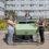 Inauguration d'un composteur au Cégep de Matane lors d'une activité pour le climat